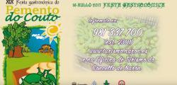 XIX FESTA GASTRONÓMICA DO PEMENTO DO COUTO