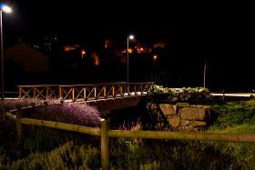 """Ponte sobre o río Freixeiro. Imaxe clasificadaa en 3º lugar no I Concurso de Fotografía """"Cidade de Narón"""""""