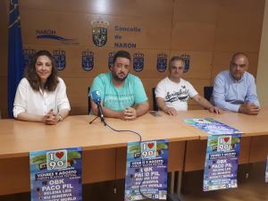 """O Odeón Bulevar Festival comeza o venres co lema """"I Love 90´s"""" e atraccións infantís na zona da Gándara"""