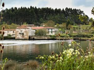 Este es un molino de mareas de finales del sigloXVIII.