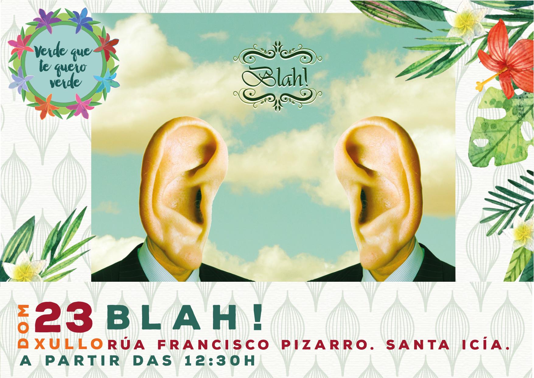 """A zona verde da rúa Francisco Pizarro, en Santa Icía, acollerá o vindeiro domingo, día 23, os dous últimos espectáculos do programa municipal """"Verde que te quero verde""""."""